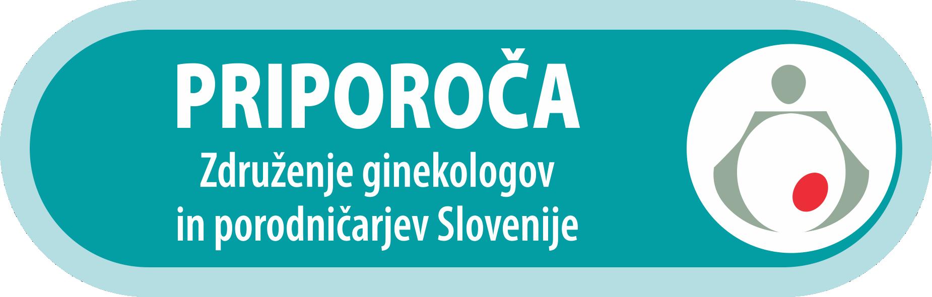 Priporoča Združenje ginekologov in porodničarjev Slovenije